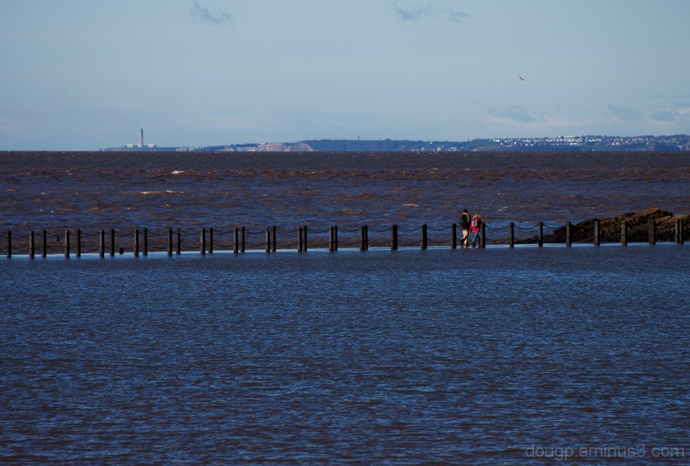 A walk across the causeway