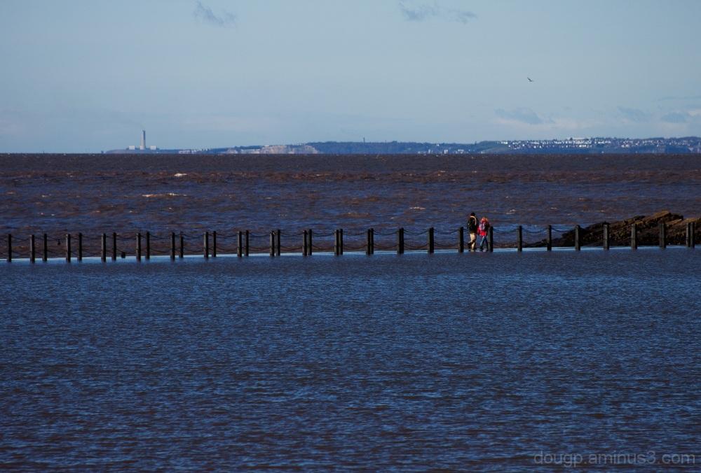 A walk across the causeway