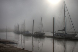 Misty moorings