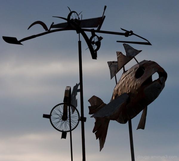 Fish scraps