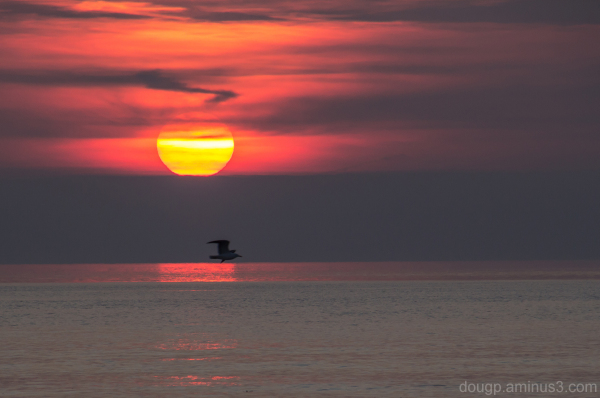 Berrow beach sunset 1 of 3