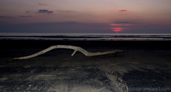 Berrow beach sunset 2 of 3