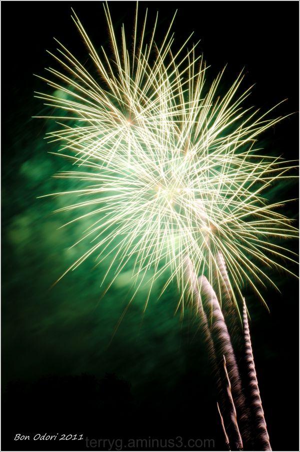 Bon Odori Fireworks