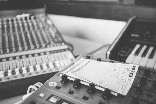 just stuff in a studio