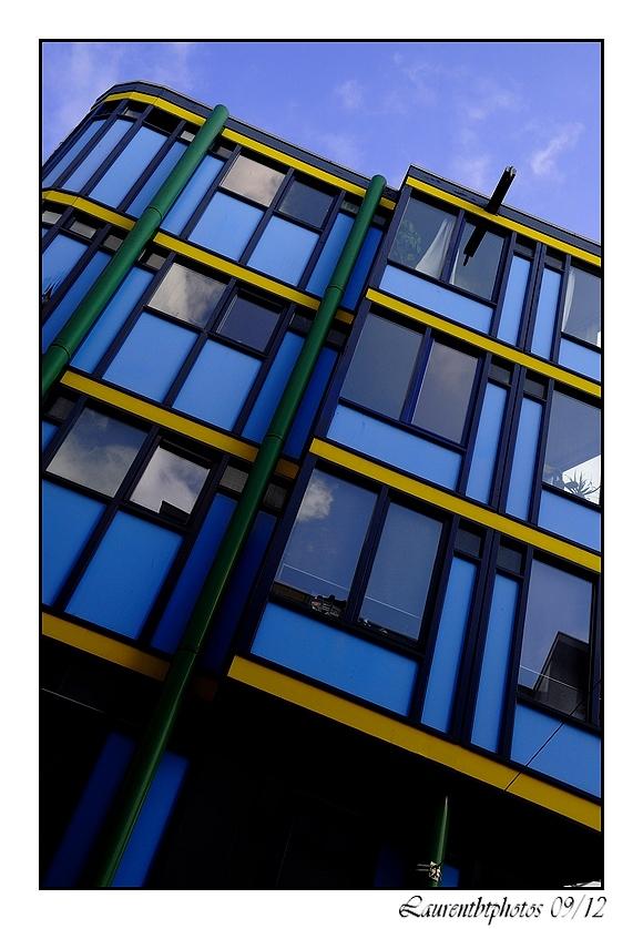 Architecture et couleurs Amsterdam