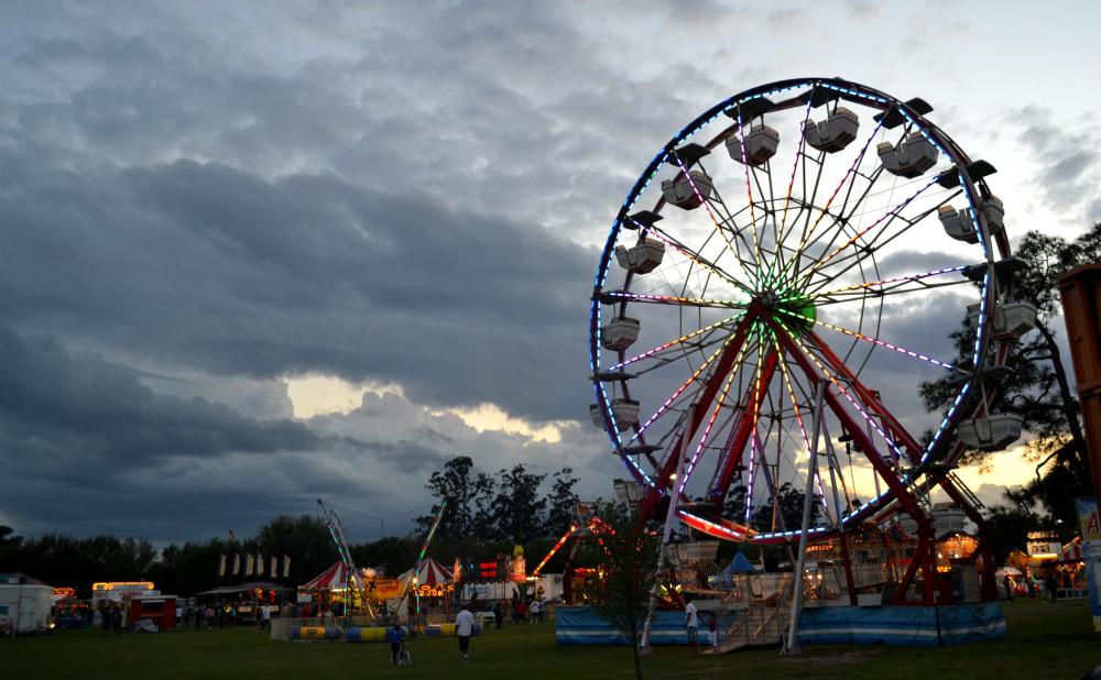 Ferris Wheel in the sky
