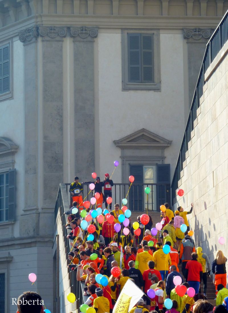 colorful baloons in Milan