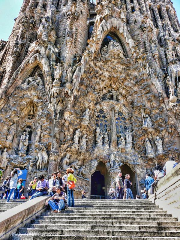 """Sagrada Família - 2/5 """"Nativity Façade"""""""