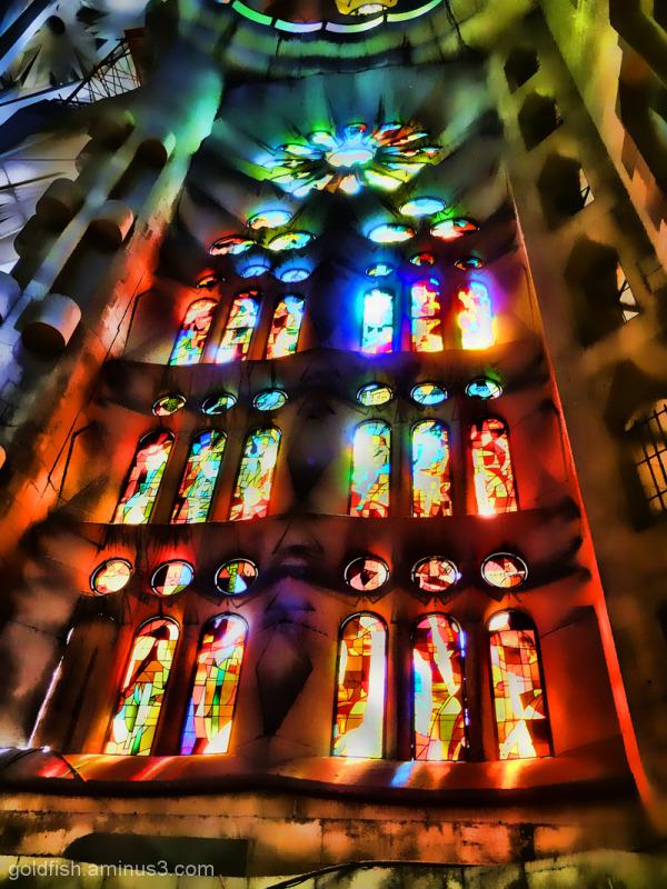 """Sagrada Família - 3/5 """"Illuminated"""""""