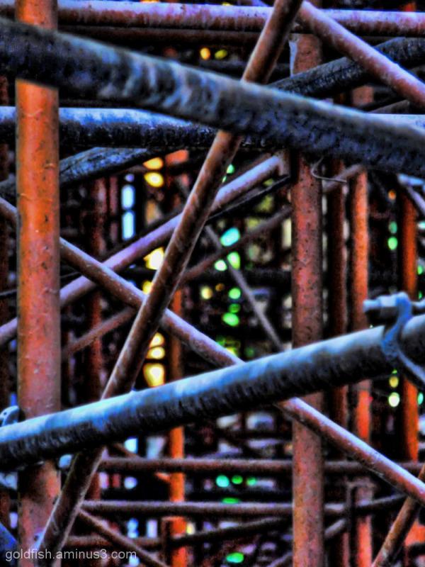 "Sagrada Família - 4/5 ""Scaffolding"""