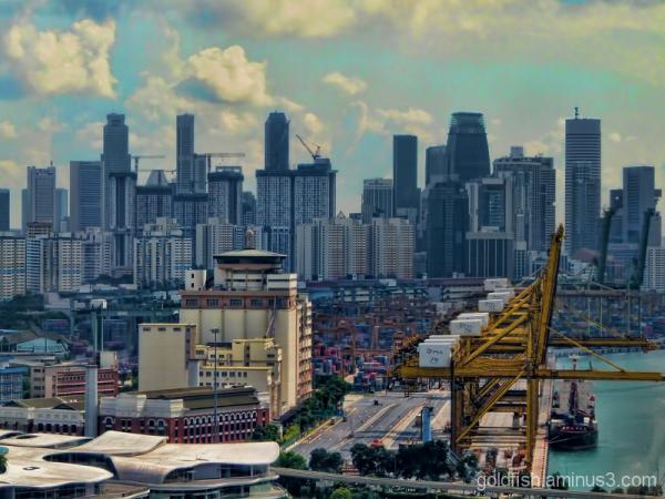 The Cranes of Singapore 3/4