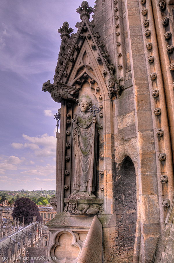 Oxford 9/11 - St Mary's Tower hdr