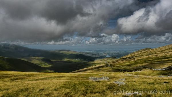 Yr Wyddfa - Snowdon, Llanberis Path (part 1) 7/11