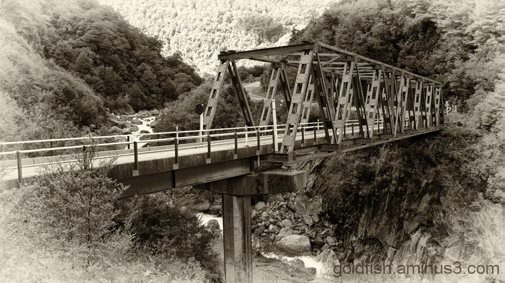 Gates of Haast Bridge