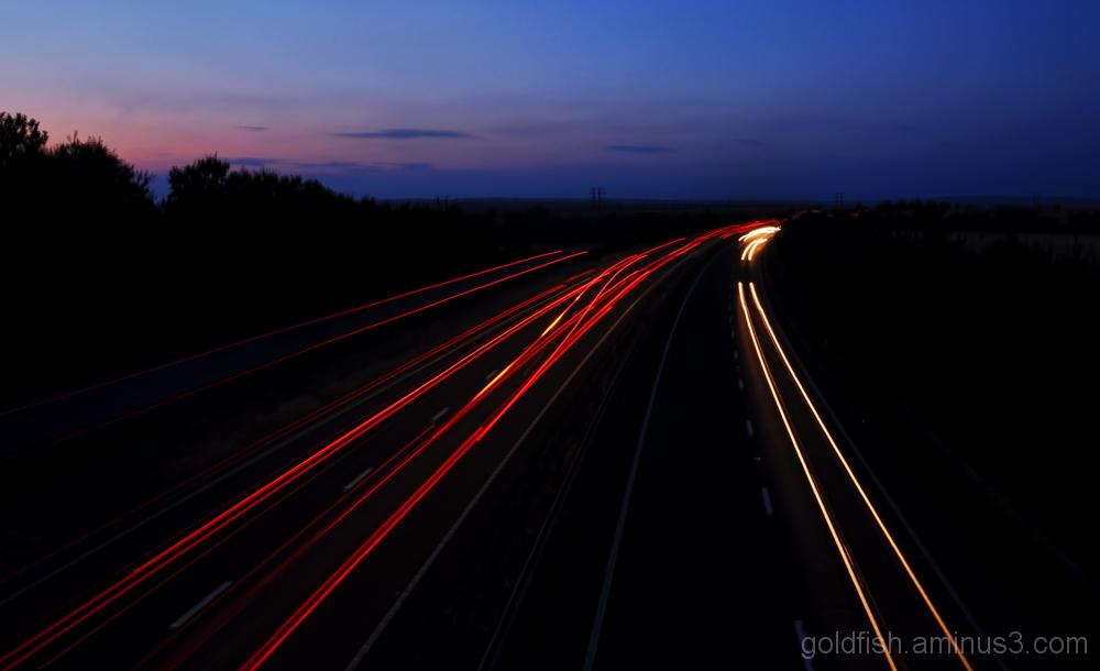 A34 Light Trails 2/2