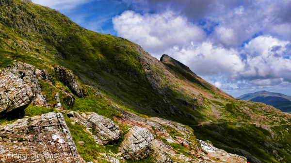 Yr Wyddfa - Snowdon, Miners Track 11/17