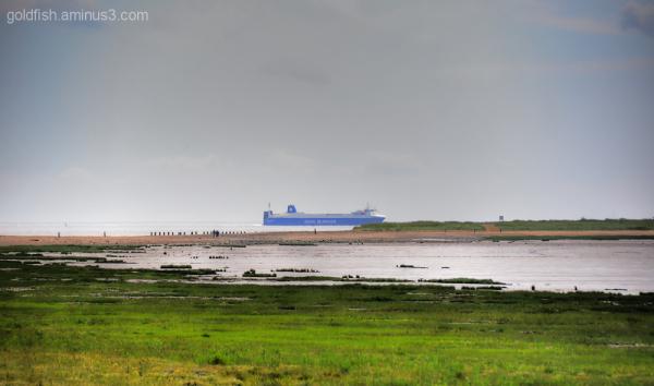 Views From Spurn Head 4/5 - DFDS Seaways