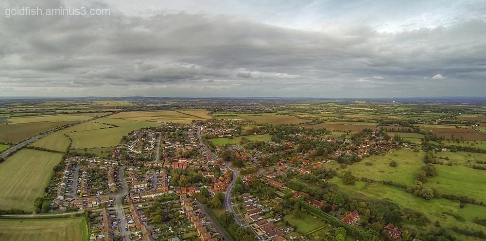 Drone's Eye View Of Drayton 4/6