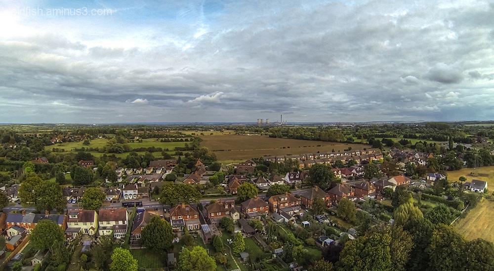Drone's Eye View Of Drayton 6/6