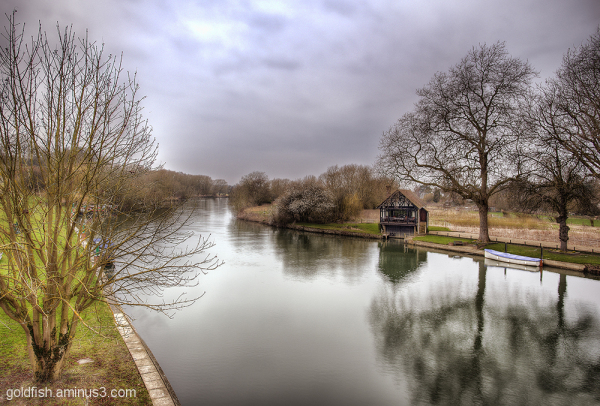 View From Shillingford Bridge 3/3