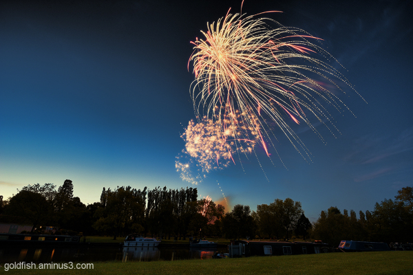 Music in the Park - Firework finale 2/6