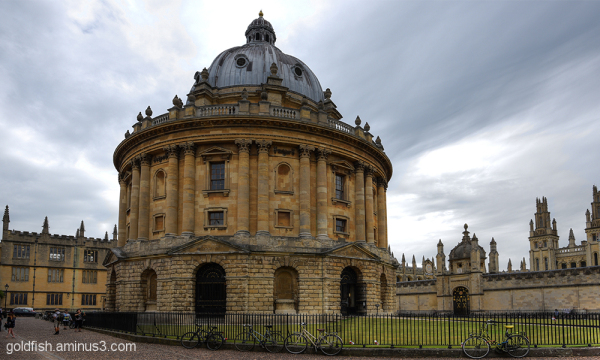Radcliffe Camera, Oxford 1/2