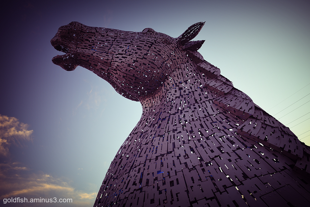 The Kelpies v