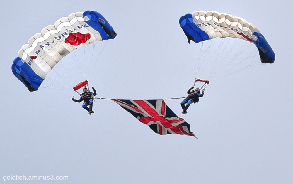 Jump4Heroes Parachute Display Team
