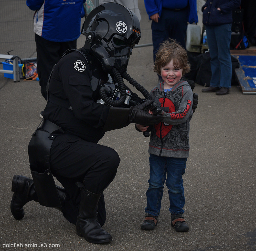 Gethin & the TIE Fighter Pilot