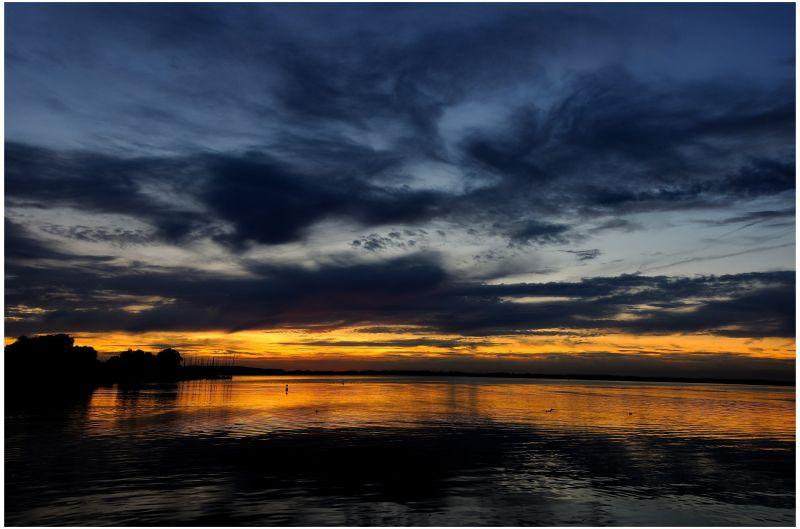 Sonnenuntergang Chiemsee