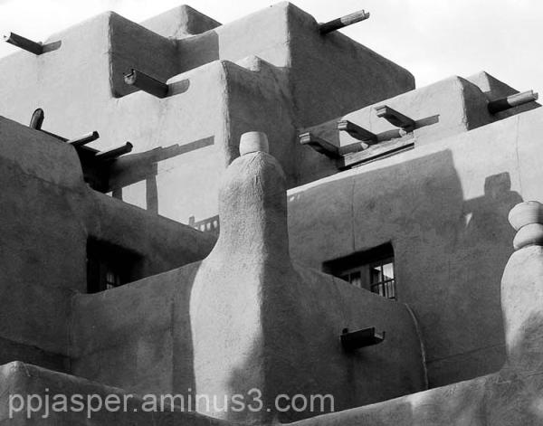 """Adobe"" Style Hotel - Santa Fe"