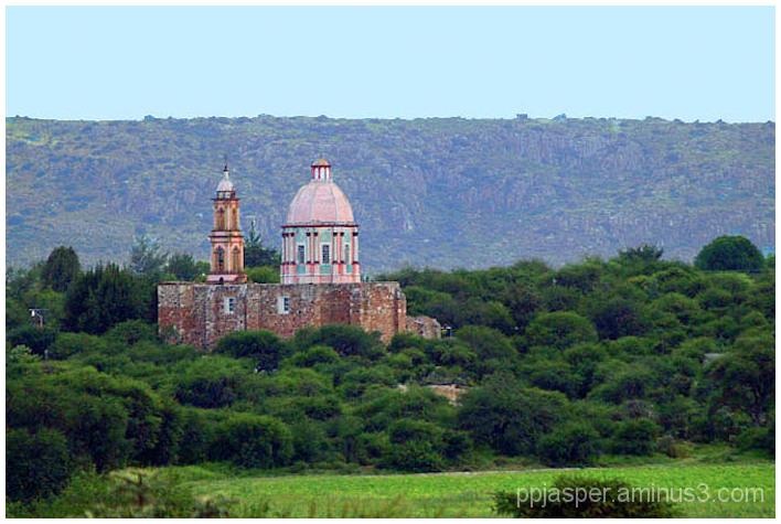 Church In The Distance - Guanajuato
