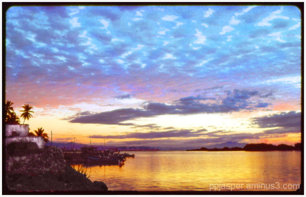 Golden Evening on the Estero - San Blas