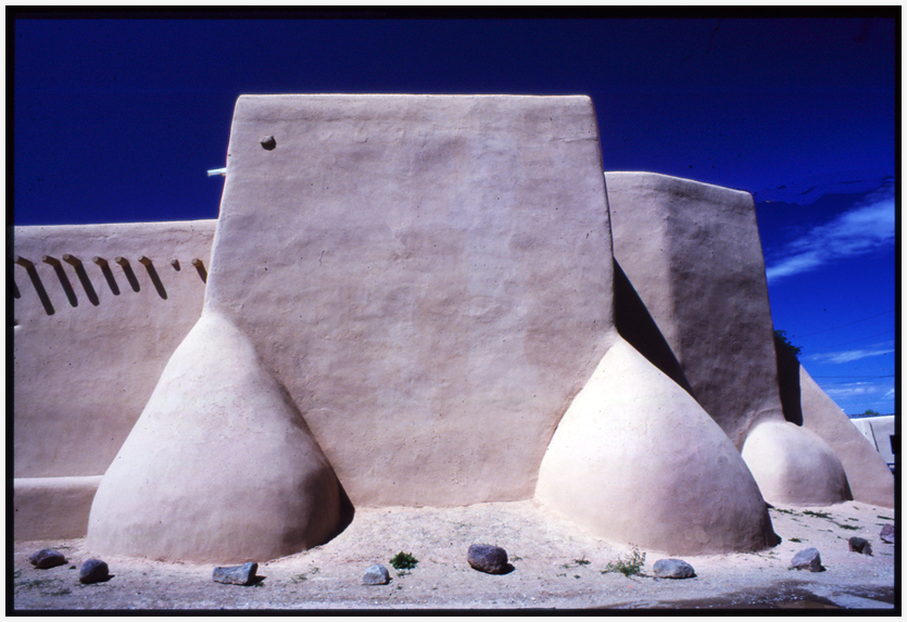 Rancho de Taos Abutments