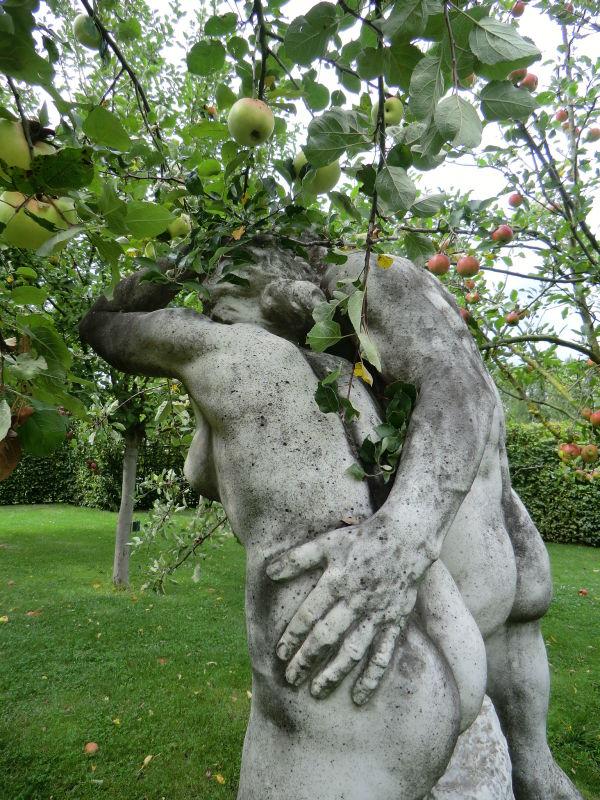 Adam et Eve au jardin du fruit défendu