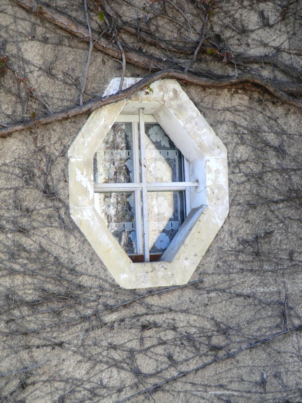 Hublot d'une fenêtre