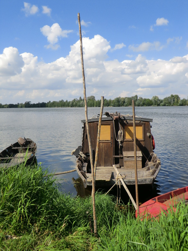 Pêcher jusqu'à la Levée de la Loire