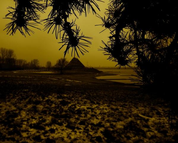 Au chaud de l'hiver,frissonnée à l'horizon...