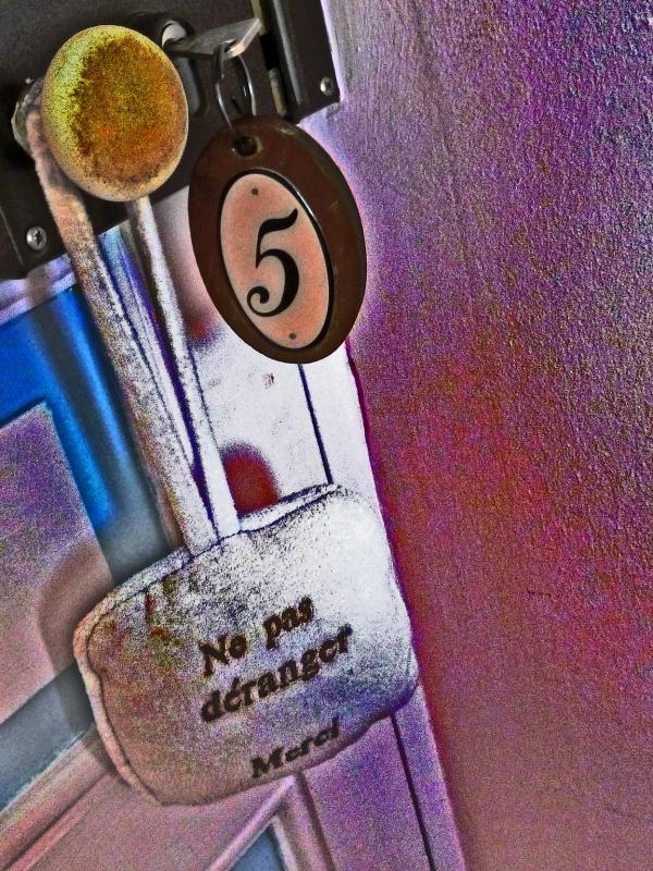 Aucun bruit ne vient me déranger dans ma cabine 5