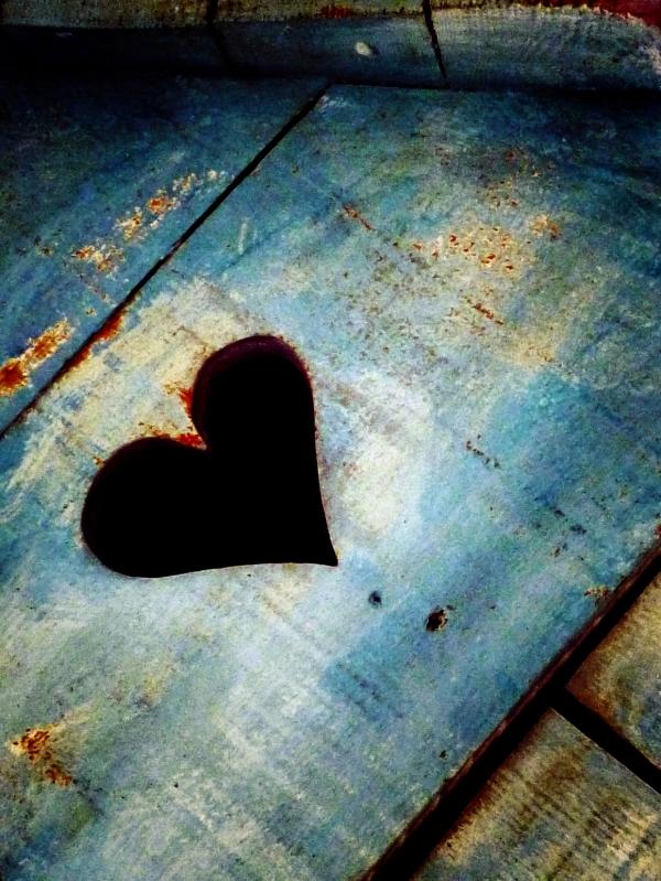 Dans un vieux coeur de bois,mon coeur est si doux