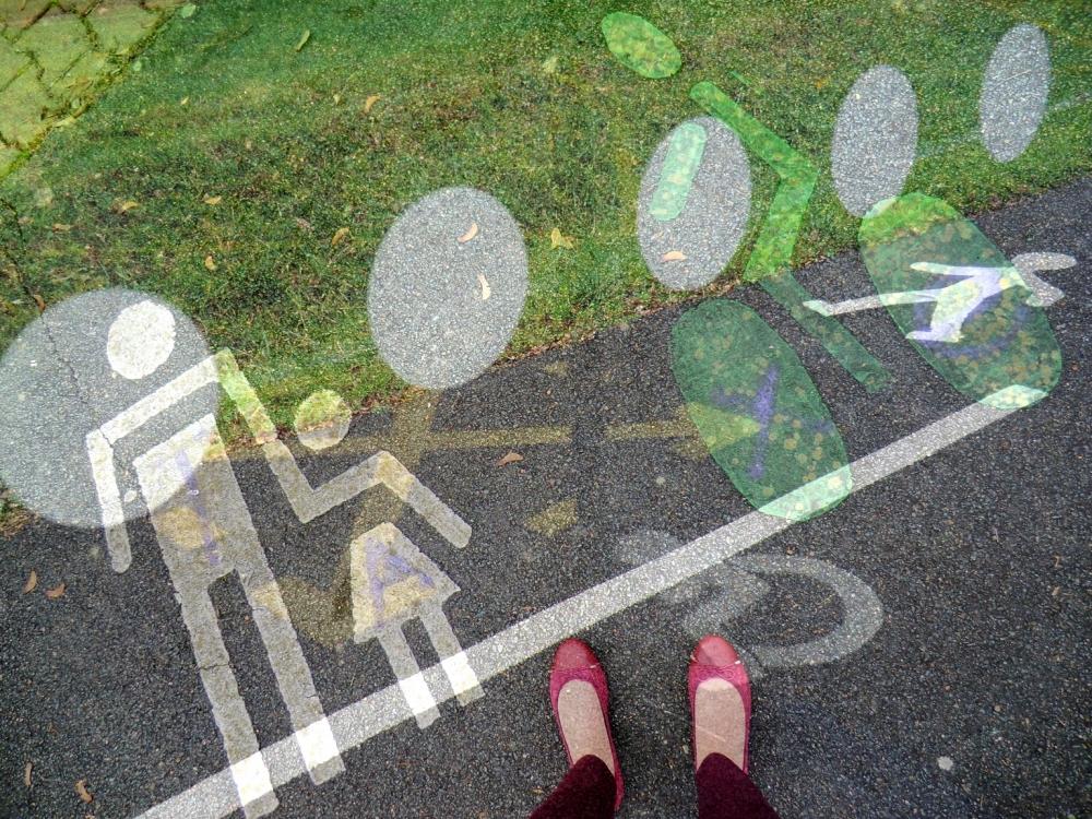 """Le point """"X"""" de la piste de recherches traces..."""