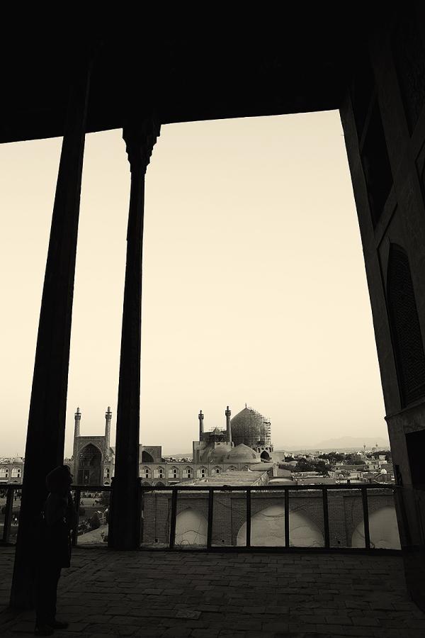 iran isfahan ālī-qāpū Jameh-Abbasi-Mosque