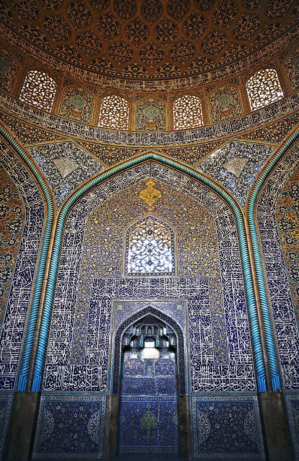 iran isfahan mosque sheikh-lutfollah