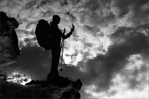 Climbing in Mirage
