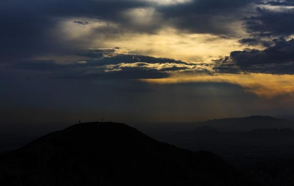 Climb at dawn