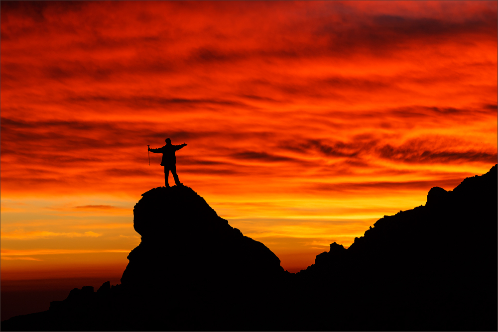 Embrace the dawn ...