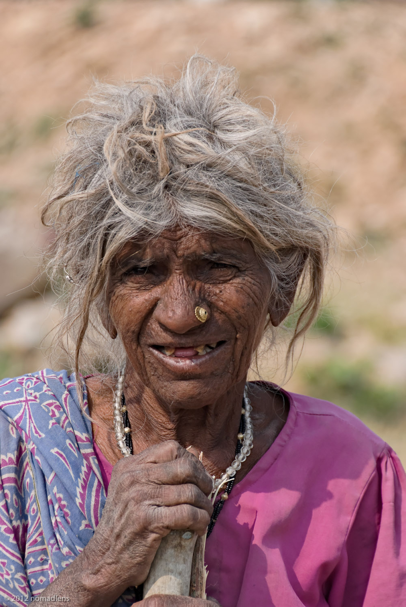 Villager, Khajuraho, MP, India