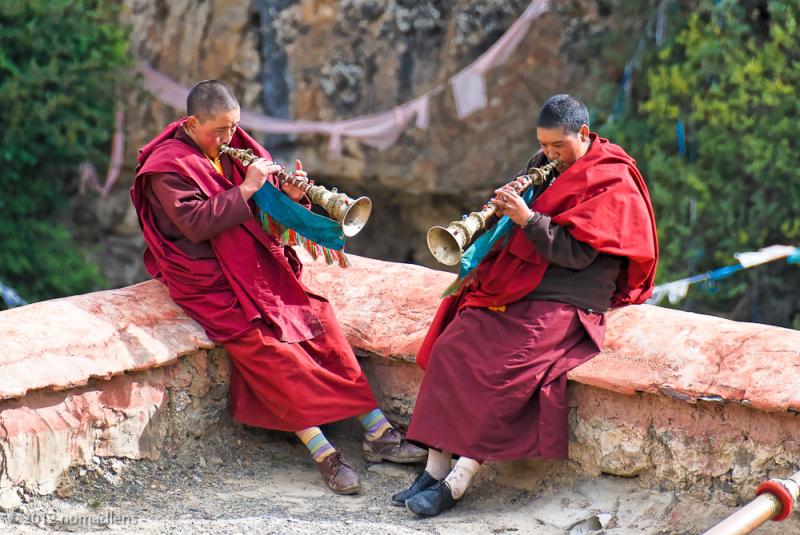 Nuns, Tidrum, U, Tibet