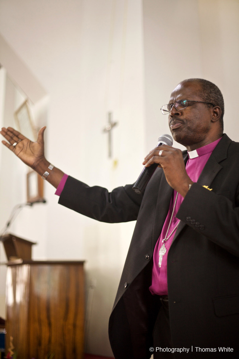 Arch Bishop of Uganda Henry Luke Orombi