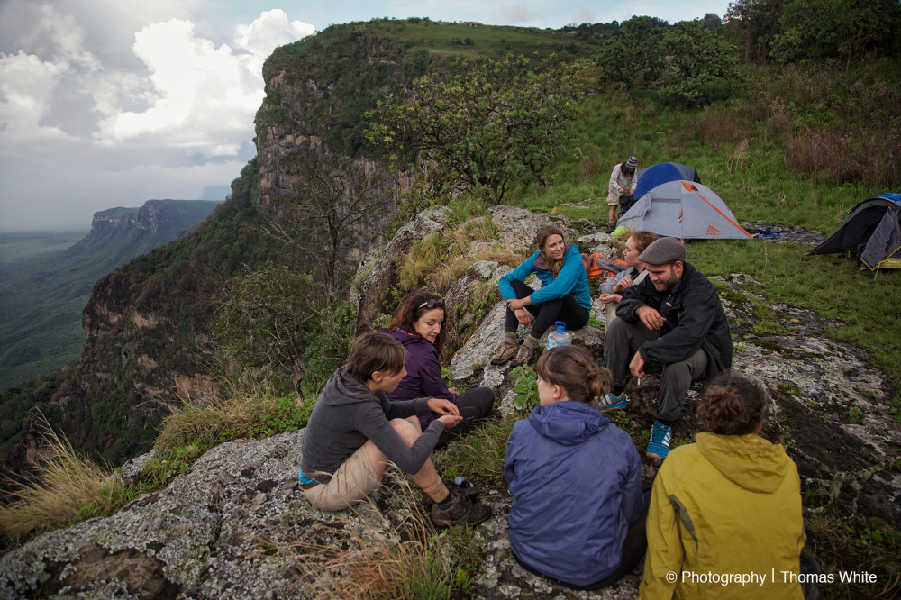 Top of Mt Napak